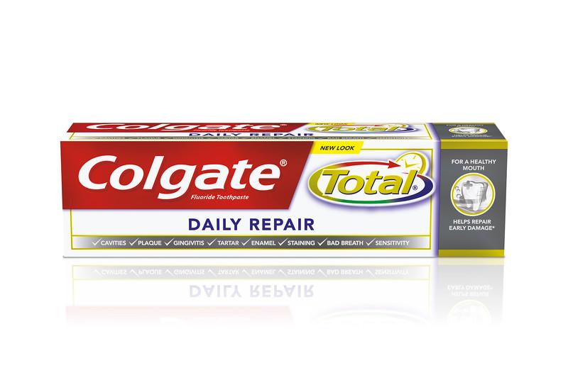 615799COLGATE hambapasta Total Daily Repair 75ml12*75ml8718951037397