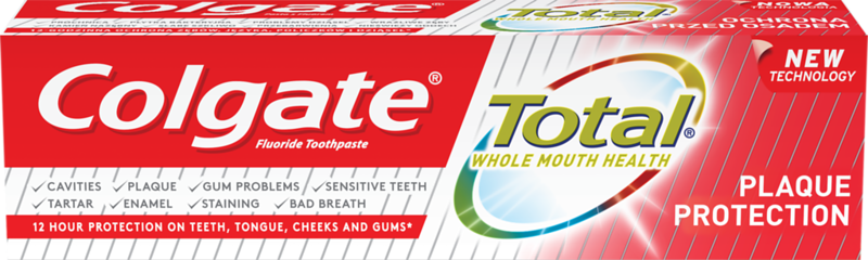 6006299	COLGATE hambapasta Total Plaque Protection 75ml	12*75ml	8718951227910