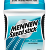 611099	MENNEN SPEED STICK Alpine deostick 60g	12*60g	5996175231309