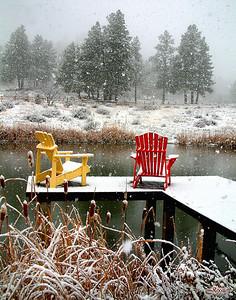 First Snowfall - Pagosa Springs, Colorado ORDER #8112718S