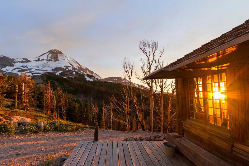 Sunset at Cloud Cap Mount Hood