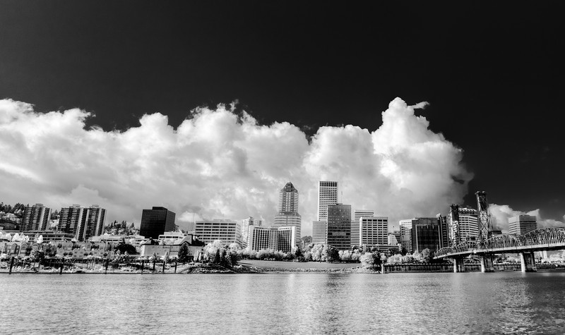Portland Life in Black & White