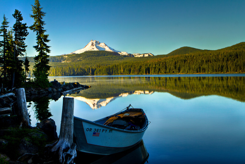 Double Mount Jefferson with a dash of Olallie Lake