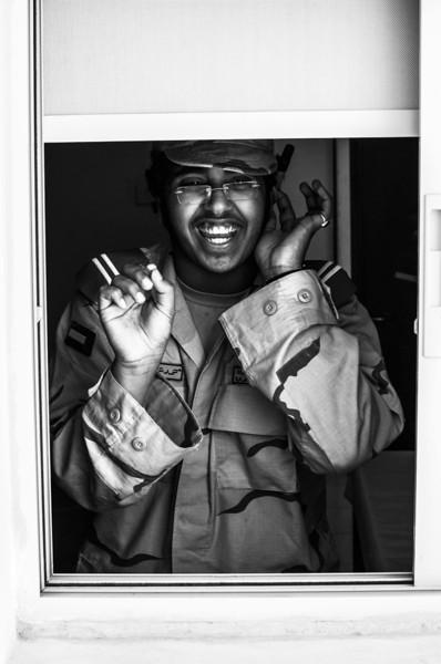 Silly guard! Abu Dhabi, UAE
