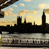 London Eye on the River Thames
