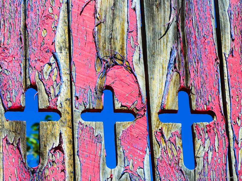 Fence in Santa Fe