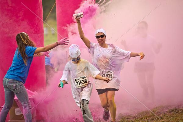 Color me Rad 5k Run (2014)