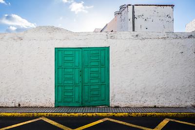 La verde y blanca