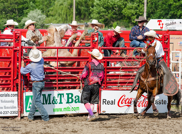 """""""Accident"""" - Central PA Rodeo, Huntingdon, PA, June 2013"""