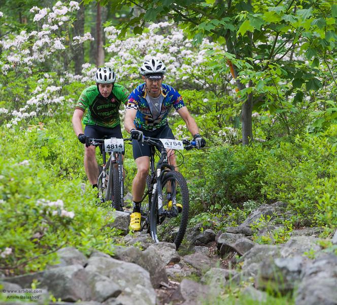 HVB June 2013 Mountain Bike Race, Rorthrock State Forest, PA, USA