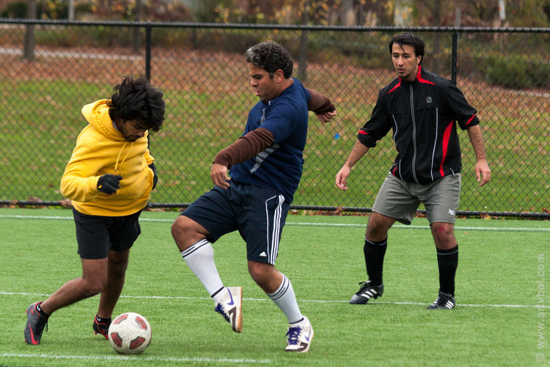 Penn State ISC 2012 Fall Soccer Tournament - Saudi Arabia (Yellow) vs Italy, University Park, PA
