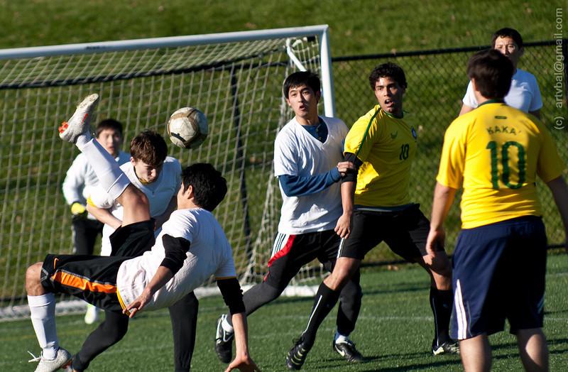 Penn State Fall ISC Soccer Tournament 2011 - Kazakhstan VS Brazil, State College, PA