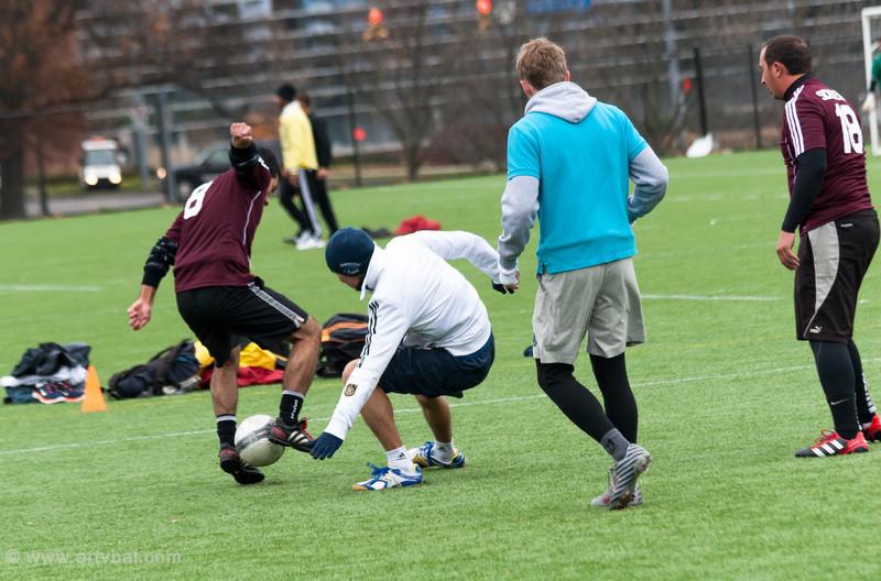 Penn State ISC 2013 Spring Soccer Tournament, Kazakhstan vs South America (dark red), University Park, PA