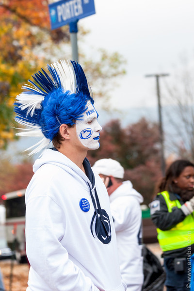 Penn State Fan on Football Day – Penn State VS Ohio, October 27, 2012, State College, PA