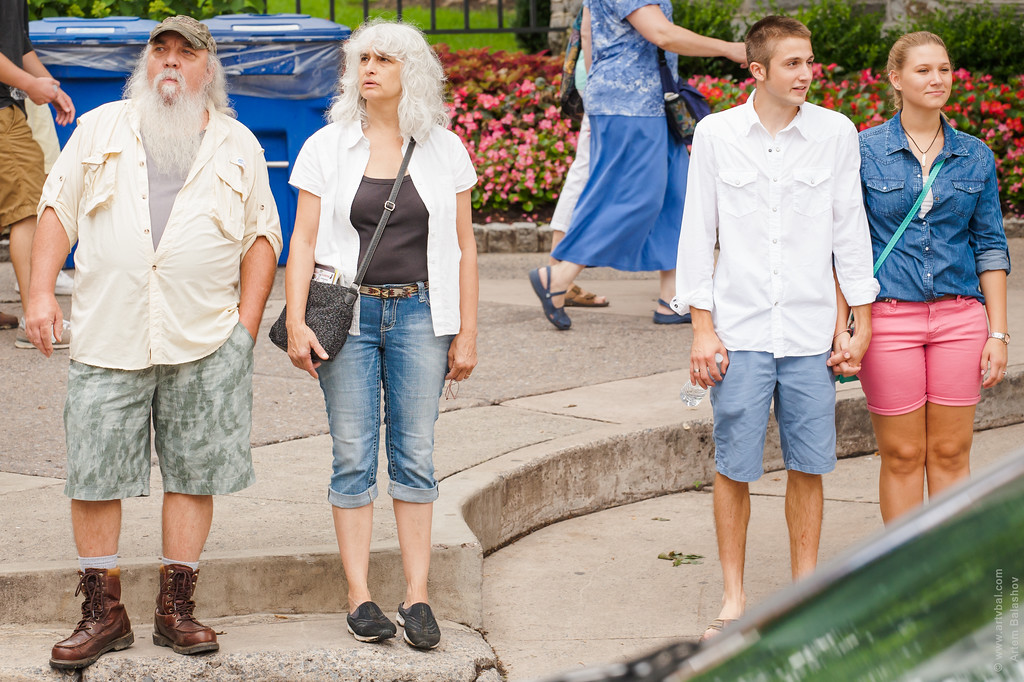 """""""As Generations Meet..."""" - State College Art Festival, Summer 2013, State College, PA"""