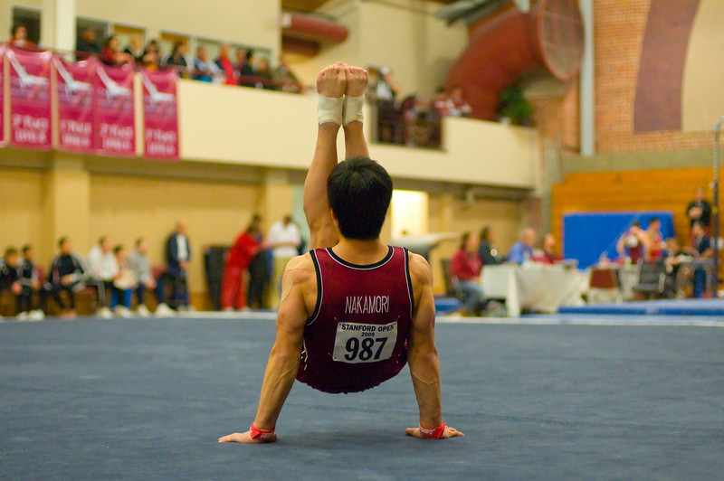 Sho Nakamori, Stanford Mens Gymnastics