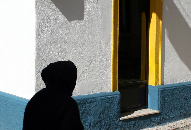 Woman in black, Portugal