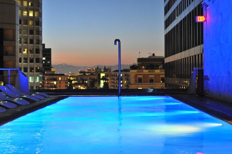 Rooftop Pool, Standard Hotel, California