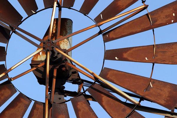 Windmill Closeup