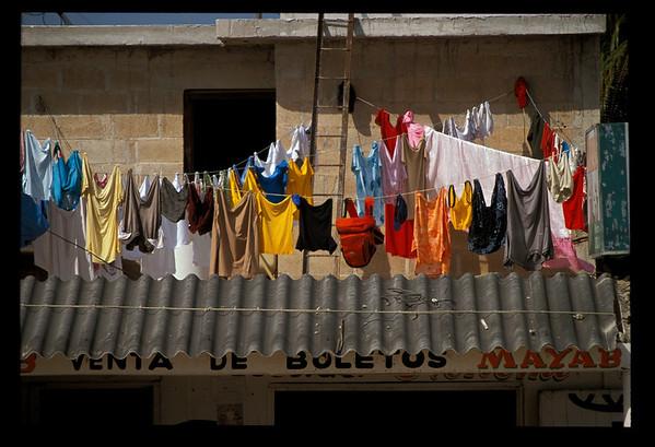 Clothesline in Mexico