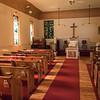 Interior of Community Presbyterian Church