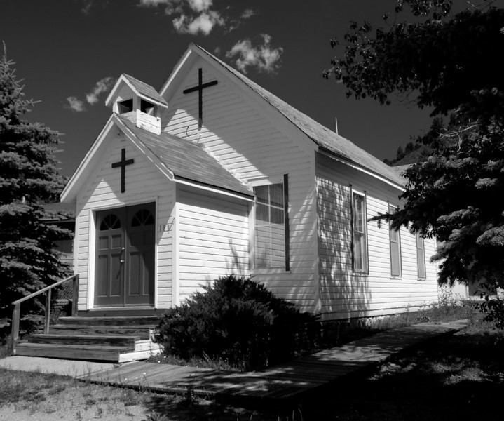 Empire Community Church, Empire, Colorado, 1890.