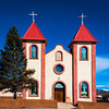 New Holy Family Catholic Church, Fort Garland, Colorado, 1952.