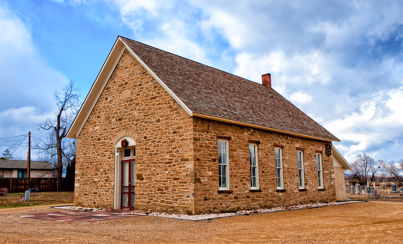 St. Vrain Church of the Brethren, Hygiene, CO, 1880