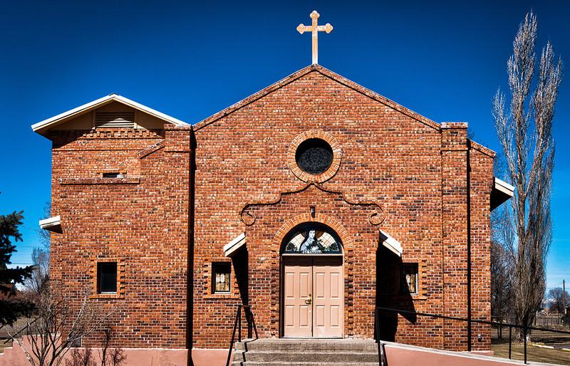 Saint Terese of the Little Flower Church, Manassa, CO, 1949