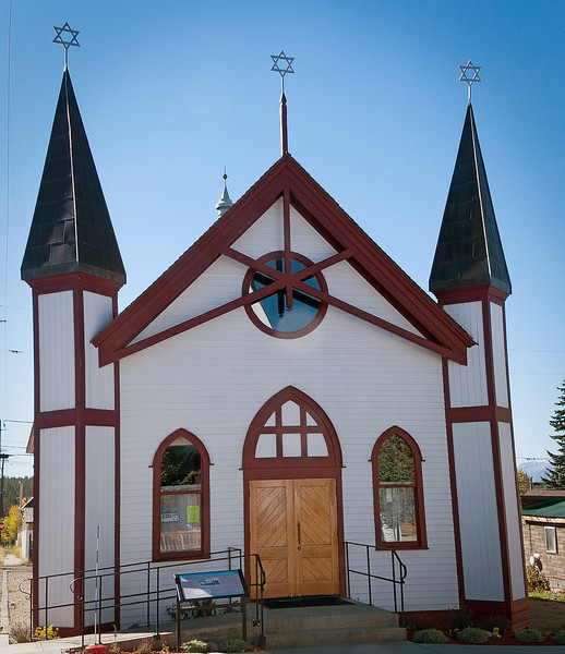 Temple Israel, Leadville, Colorado, 1884