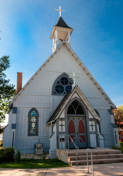 Grace Episcopal Church, Buena Vista, Colorado.  1882