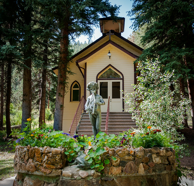 Chapel at YMCA Camp Santa Maria, Shawnee, Colorado