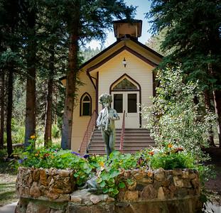 Chapel at YMCA Camp Santa Maria, Shawnee, Colorado