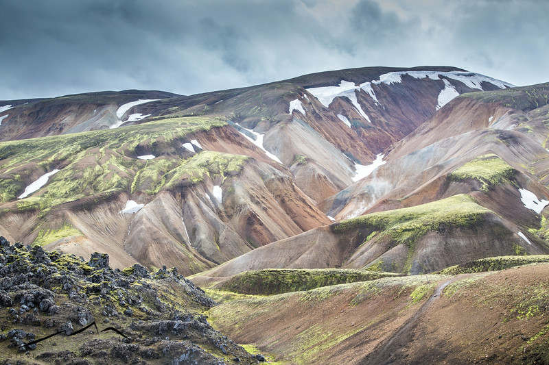 Landmannalaugar, in the central highlands.