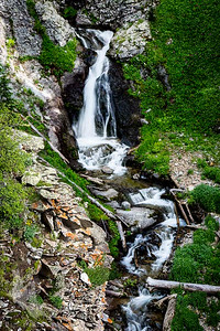 Porphyry Basin Waterfall