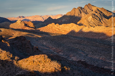 Desert sunrise, Clark County, Nevada