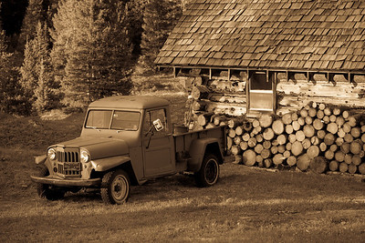 cabin fever with a willys