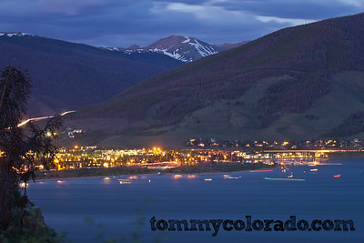 Lake Dillon on the 4th of July, awaiting fireworks