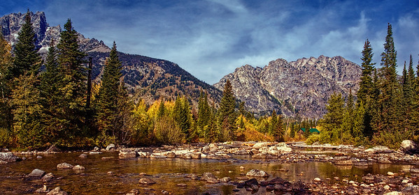 Teton Mountain Stream