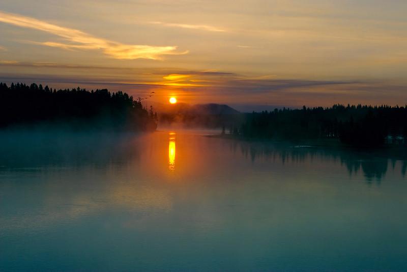Fishing Bridge Dawn
