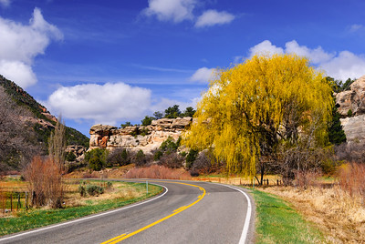 Colorado Highway 90, Just east of the Utah Border