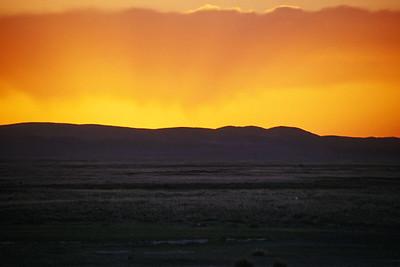 Saikhan Ovoo ger camp, Middle Gobi, Mongolia