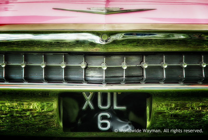 Pink Caddy Close-Up