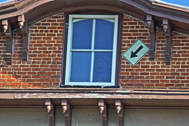 Carrollton, Alabama Face in window Lightning Portrait of Henry Wells    Canon HDR