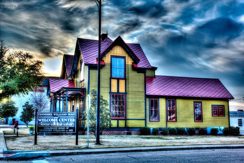 Tennessee Williams House sunrise