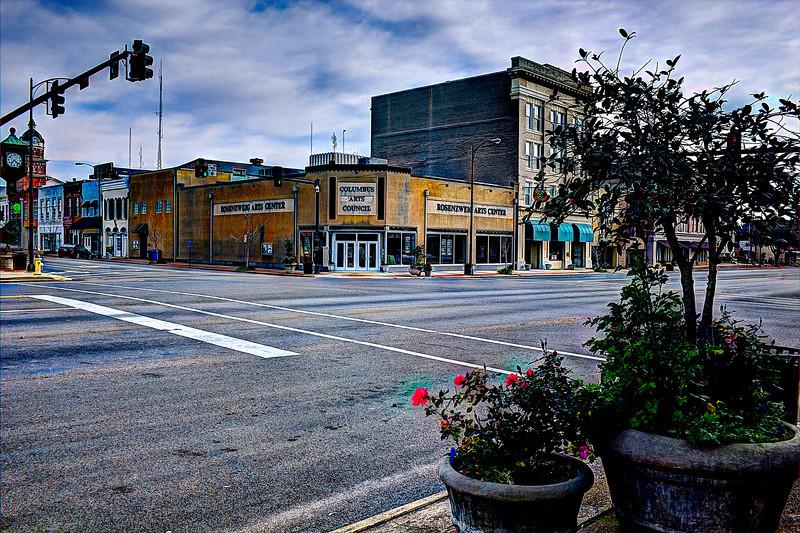 Columbus Art Center fused Downtown Columbus, Mississippi