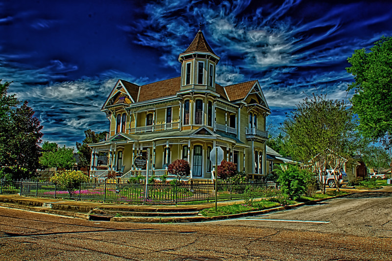 Painted Lady Morning Bed and Breakfast Columbus Mississippi