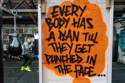 """Everybody has a plan until they get punched in the face"""