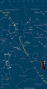 Comet 46P Path