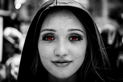 Little Red Eyed Riding Hood